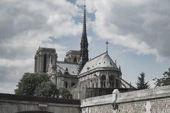 Собор Нотр-Дам de Париж стоковое фото