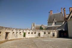 Собор от ducs de Бретаня des Château в Нанте Стоковое Изображение RF