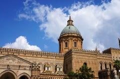 Собор Палермо в Сицилии Стоковое Фото