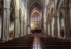 Собор пастора Buen San Sebastian, Gipuzkoa, Баскония, Испания Стоковое Изображение