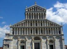 Собор Пизы в dei Miracoli аркады Стоковая Фотография