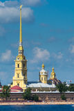 Собор Питера и Паыля st petersburg России Стоковое фото RF