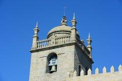 Собор Порту, Порту, Португалия Стоковое фото RF