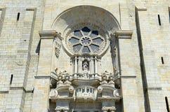 Собор Порту, Порту, Португалия Стоковое Фото