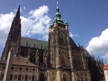 Собор Прага St Vitus Стоковое Фото