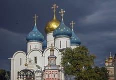 Собор предположения в Sergiev Posad 1 стоковое фото rf