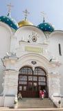 Собор предположения благословленной девой марии Святой Троиц-St Sergiev Posad Стоковые Изображения