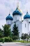 Собор предположения благословленной девой марии Святой Троиц-St Sergiev Posad Стоковое Изображение RF