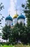 Собор предположения благословленной девой марии Святой Троиц-St Sergiev Posad Стоковые Фото