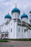 Собор предположения благословленной девой марии Святой Троиц-St Sergiev Posad Стоковое фото RF