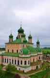 Собор предположения благословленной девственницы монастыря Goritsky предположения pereslavl Россия zalesskiy Стоковое фото RF