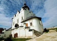 Собор предположения, маленький город Sviyazhsk, России Стоковая Фотография