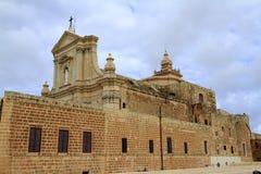 Собор предположения Gozo, Мальты Стоковые Изображения RF