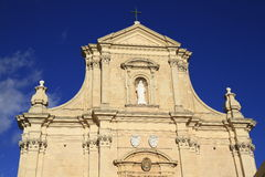 Собор предположения Gozo, Мальты Стоковые Фотографии RF