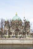Собор протестанта в Берлине Стоковая Фотография RF