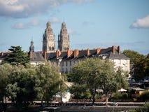 Собор путешествий, в центр-западе Франции стоковые фотографии rf