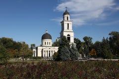 Собор рождества в Kishinev ChiÈ™inău Молдавии Стоковое Изображение