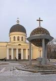 Собор рождества в Kishinev (ChiÈ™inău) Молдавии стоковое изображение rf