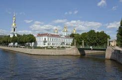 Собор Санкт-Петербурга, St Nicholas стоковое фото rf