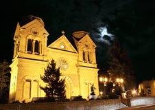 Собор Санта Фе Ст Франчис Стоковое Изображение