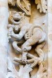 Собор Саламанки стоковые изображения