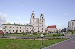 Собор святейшего духа в Минск Стоковое Изображение RF