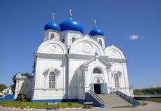 Собор святого монастыря Bogolyubovo стоковые изображения rf