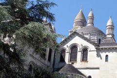 Собор Святого передний, путь паломничества к Santiago de Compostela, месту всемирного наследия ЮНЕСКО стоковое фото