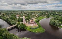 Собор святого собора воскресения в Staraya Russa Стоковые Изображения RF