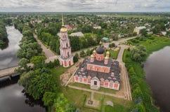 Собор святого собора воскресения в Staraya Russa Стоковая Фотография