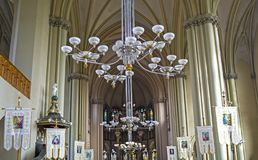 Собор Святых Ольги и Элизабета St Joseph Bilczewski, 1903 до 1911 Львов, Украин стоковая фотография rf