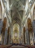 Собор Святых Vitus в Праге, чехии стоковая фотография