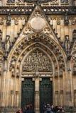 Собор Святых Vitus, Праги Стоковое Фото