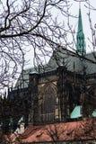 Собор Святых Vitus, Праги Стоковые Изображения RF