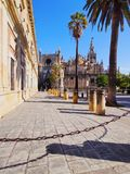 Собор Севильи, Испании Стоковые Изображения