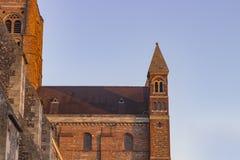Собор Сент-Олбанса стоковое фото rf