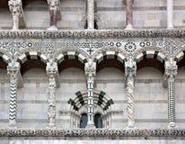 Собор Сен-Мартен Лукки Лукки Тосканы Италии стоковые фото