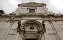 Собор Сен-Мартен Лукки Лукки Тосканы Италии стоковая фотография