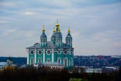 Собор Смоленск предположения стоковые фотографии rf