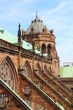 Собор страсбурга, Эльзас, Франция Стоковые Изображения RF