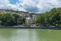 Собор Тбилиси Georgia Европа Sioni стоковое фото rf
