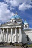 Собор троицы-Izmailovsky в Санкт-Петербурге Стоковое Фото