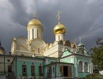 Собор троицы St в Sergiev Posad стоковое фото