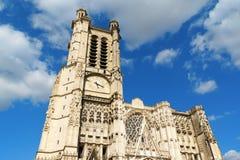 Собор Труа, Франция Стоковое фото RF