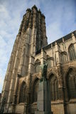 собор Фландрия mechelen Стоковые Фото