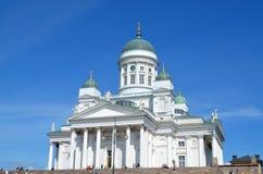 Собор Хельсинки, Финляндия Том Wurl Стоковые Фото