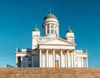 Собор Хельсинки, Хельсинки, Финляндия Стоковая Фотография