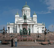 Собор Хельсинки стоковое изображение rf