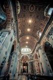 Собор церков в Риме, Италии Архитектура здания, atholic ориентир ориентир, историческое здание Стоковое Изображение