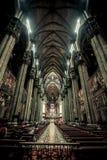 Собор церков в Риме, Италии Архитектура здания, atholic ориентир ориентир, историческое здание Стоковое фото RF